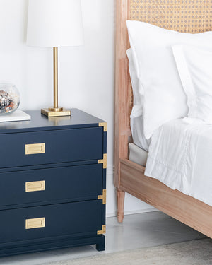 Small Carlyle Campaign Dresser - Navy