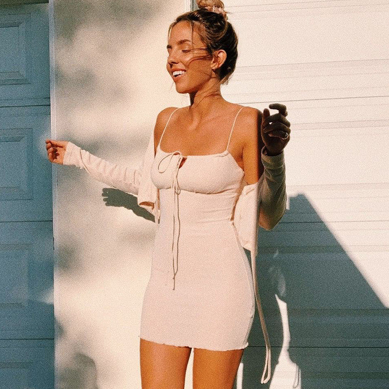 Sleeveless Sexy Slip Dress