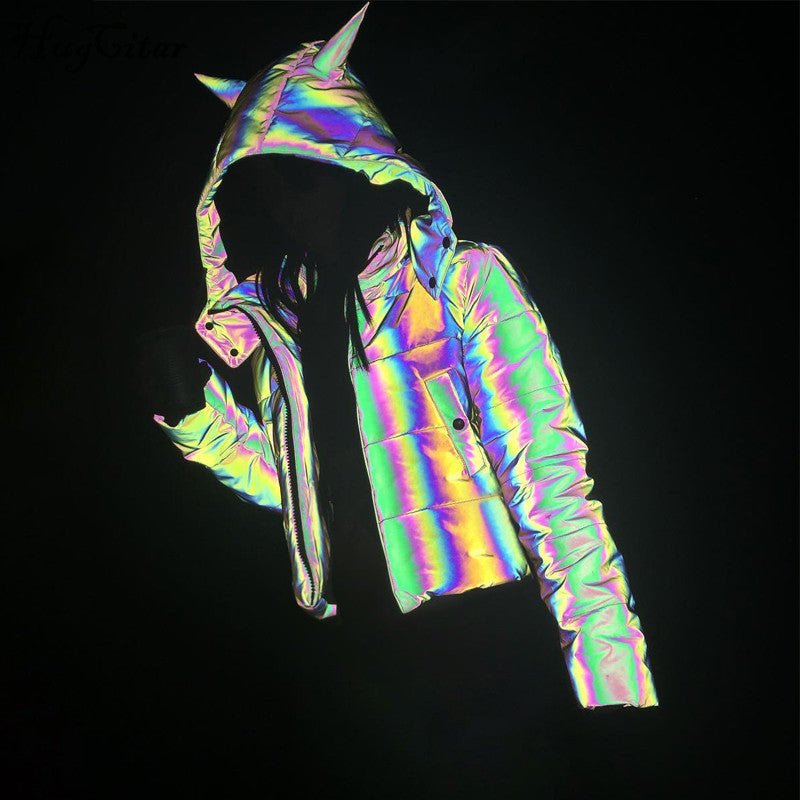 Reflective Hooded Jacket
