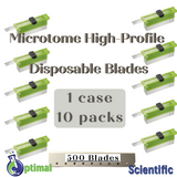Microtome & Cryostat High-Profile Disposable Blades - Optimal Scientific