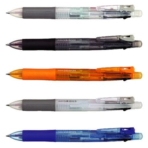 Zebra SARASA 3+S Assorted Colors 0.5mm Multifunctional Pens (5pcs) - Assorted [SJ3]