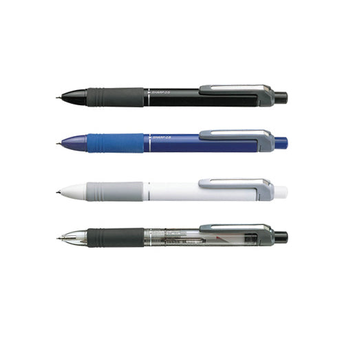 Zebra SK-SHARBO+1 SB5 Black, Blue, White and Transparent 0.7mm Multi Pens (4pcs) - Assorted