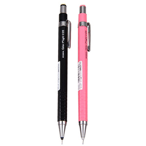 ~ NEW ITEM ~ Zebra Color Flight MA53 Black and Coral Pink 0.5mm Mechanical Pencils (2pcs) - Assorted