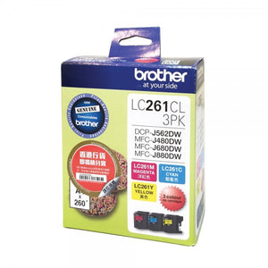 Image #1 of Brother LC261CL 3PK