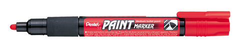 Pentel 4.0mm Medium Bullet Point Paint Marker - Red Ink