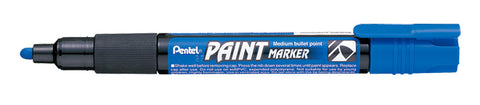 Pentel 4.0mm Medium Bullet Point Paint Marker - Blue Ink