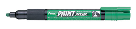 Pentel 4.0mm Medium Bullet Point Paint Marker - Green Ink