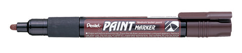 Pentel 4.0mm Medium Bullet Point Paint Marker - Brown Ink