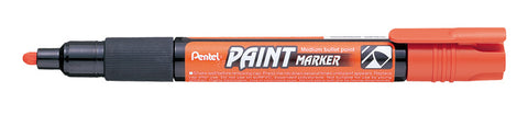 Pentel 4.0mm Medium Bullet Point Paint Marker - Orange Ink