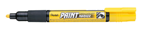 Pentel 4.0mm Medium Bullet Point Paint Marker - Yellow Ink