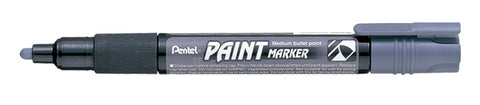 Pentel 4.0mm Medium Bullet Point Paint Marker - Gray Ink