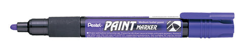 Happy Easter Pentel 4.0mm Medium Bullet Point Paint Marker - Violet Ink
