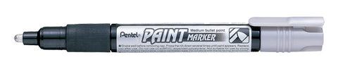 Pentel 4.0mm Medium Bullet Point Paint Marker - Silver Ink