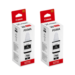 Canon PIXMA Ink Tanks (for G4000/G3000) (2pcs) - Black [GI-790]