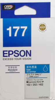 Epson Ink Cartridge (for XP-225/XP-422) - Cyan Ink