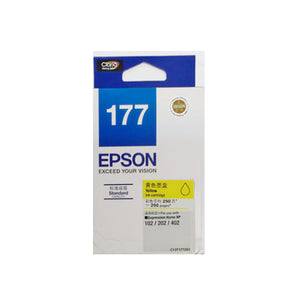 [Xmas SALE] Epson 177 Ink Cartridge (for XP-225/XP-422) - Yellow Ink