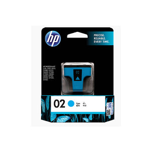 [Xmas] HP 02 Standard Ink Cartridge (for Photosmart 8250/3210/3310) - Cyan