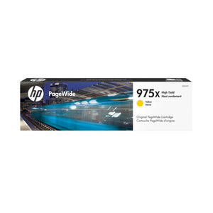 [Prime Day] HP 975X High Yield PageWide Ink Cartridge (for PageWide Pro 552/577) - Yellow