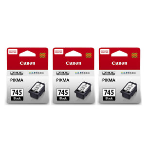 Canon Ink Cartridges (for MG3077/MG3070/MG2970/MX497) (3pcs) - Black [PG-745]