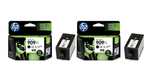 HP High Yield Ink Cartridges (Twin Pack) (for OfficeJet Pro 6960/6970) - Black [909XL]