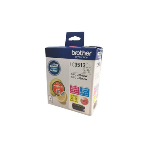 Image #1 of Brother LC3513CL-3PK