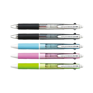 Uni Jetstream 2&1 0.7mm Multifunctional Pens (Pack of 5) - Assorted [MSXE3-500-07]
