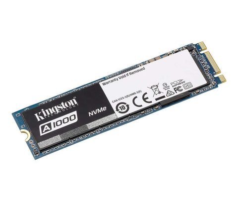 Kingston A1000 NVMe 960GB 3D TLC SSD Solid State Drive