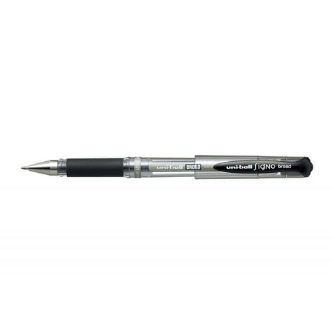 Uni Signo Broad UM-153 1.0mm Gel Ink Ballpoint Pen - Black