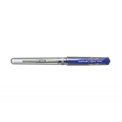 Uni Signo Broad UM-153 1.0mm Gel Ink Ballpoint Pen - Blue