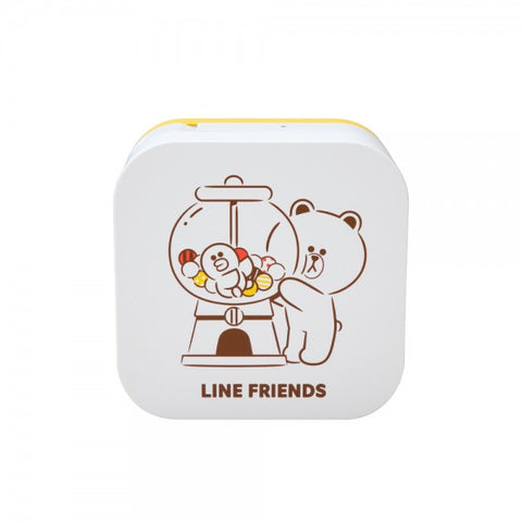 Brother P-Touch PT-P300BT Bluetooth Wireless Label Maker (Line Friends)