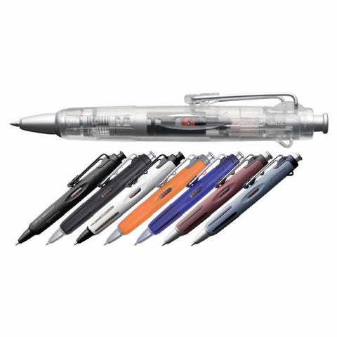 SUPER SALE Tombow AirPress BC-AP 0.7mm Short Barrel Ballpoint Pens (Pack of 8) - Assorted Barrel