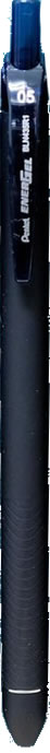 Pentel EnerGel R1 0.5mm Retractable Gel Roller Pen - Navy Blue [BLN435R1]