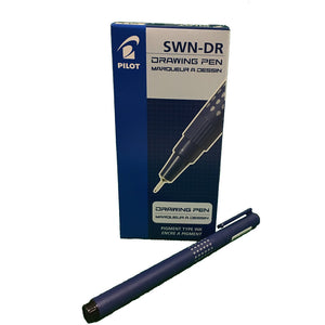 Pilot 0.1mm Drawing Pen (12pcs) - Blue Ink [SWN-DR-01]