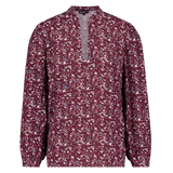 Blouse Manuela small flower red Blouses Oscar Jane W 2020