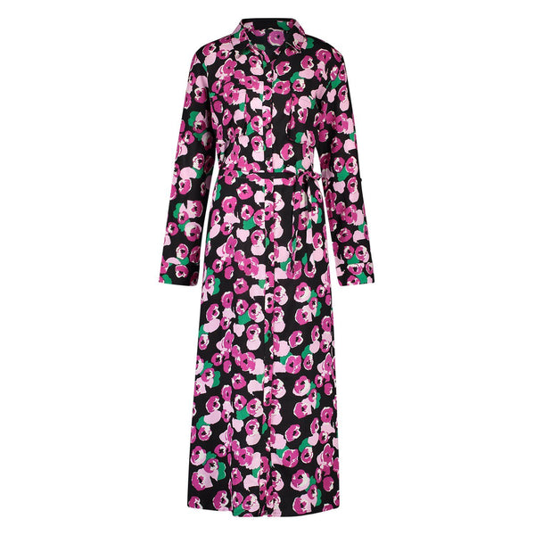 Blouse/Dress Petra flower black/pink Dress Summer 2021