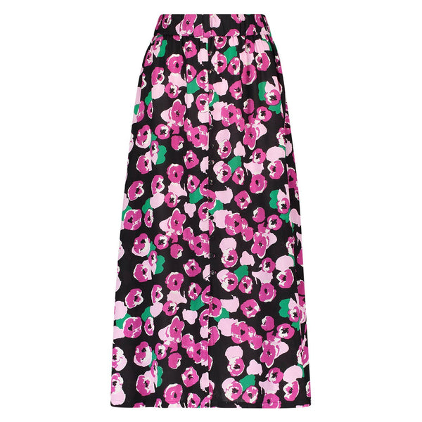 Skirt Pala flower black/pink Skirts Summer 2021