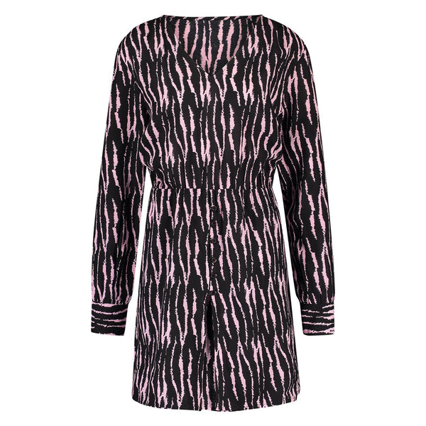 Short Dress Piet tiger black/pink Dress Summer 2021