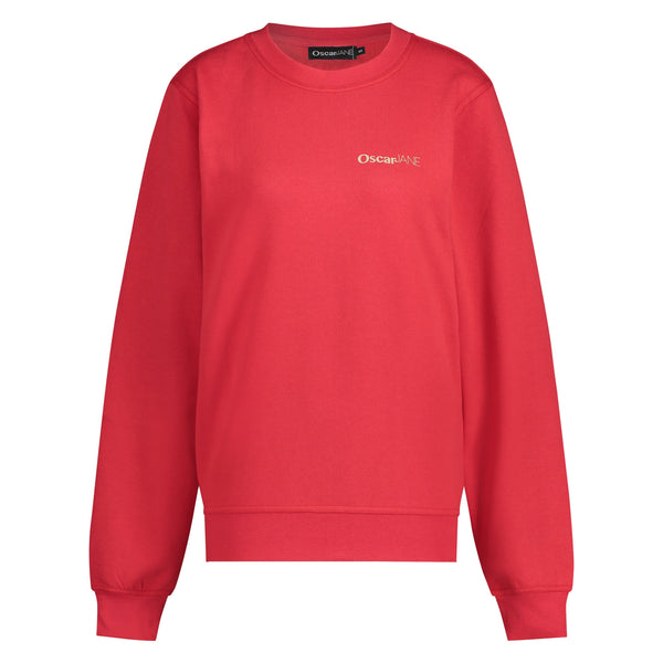 Sweater Basic red Sweater O&J Basics