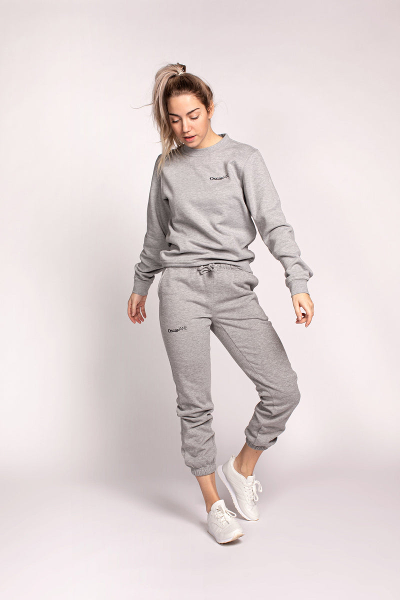 Sweater Basic grey Sweater O&J Basics