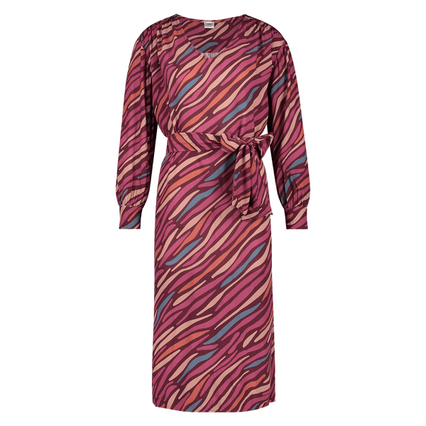Dress Marina Abstract Red Dress Oscar Jane W 2020