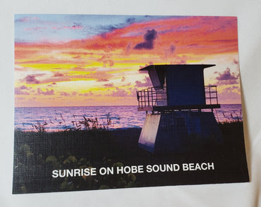 HOBE SOUND POST CARDS