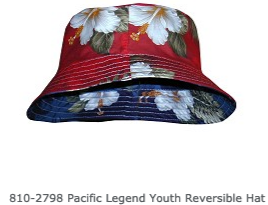 Aloha Youth Reversible Hats