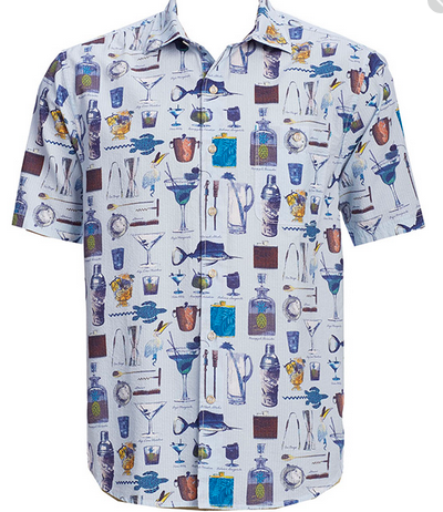 Tommy Bahama Mens Shirts Short Sleeves