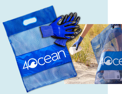 4Ocean Clean up kits