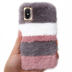 Striped Fluffy, , Real Cool Case, Real Cool Case - Real Cool Case