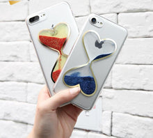 Heart Shape Girly Quicksand Phone Cases, , Real Cool Case, Real Cool Case - Real Cool Case