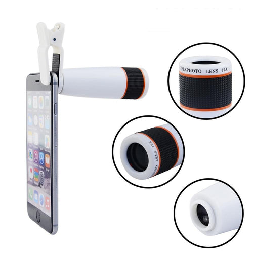 Universal 12X Zoom  Phone Camera Lens, , Real Cool Case, Real Cool Case - Real Cool Case