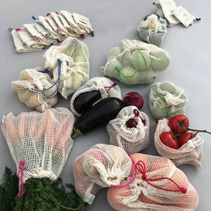 Earth friendly mesh bags