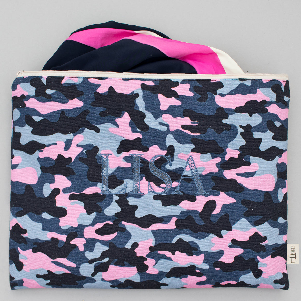 Beach Pouch - Camo Falsterbo Sky