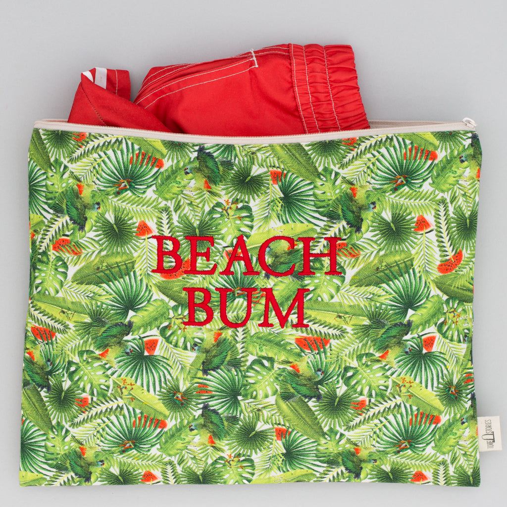 Beach Pouch - Palm Kradan Coconut